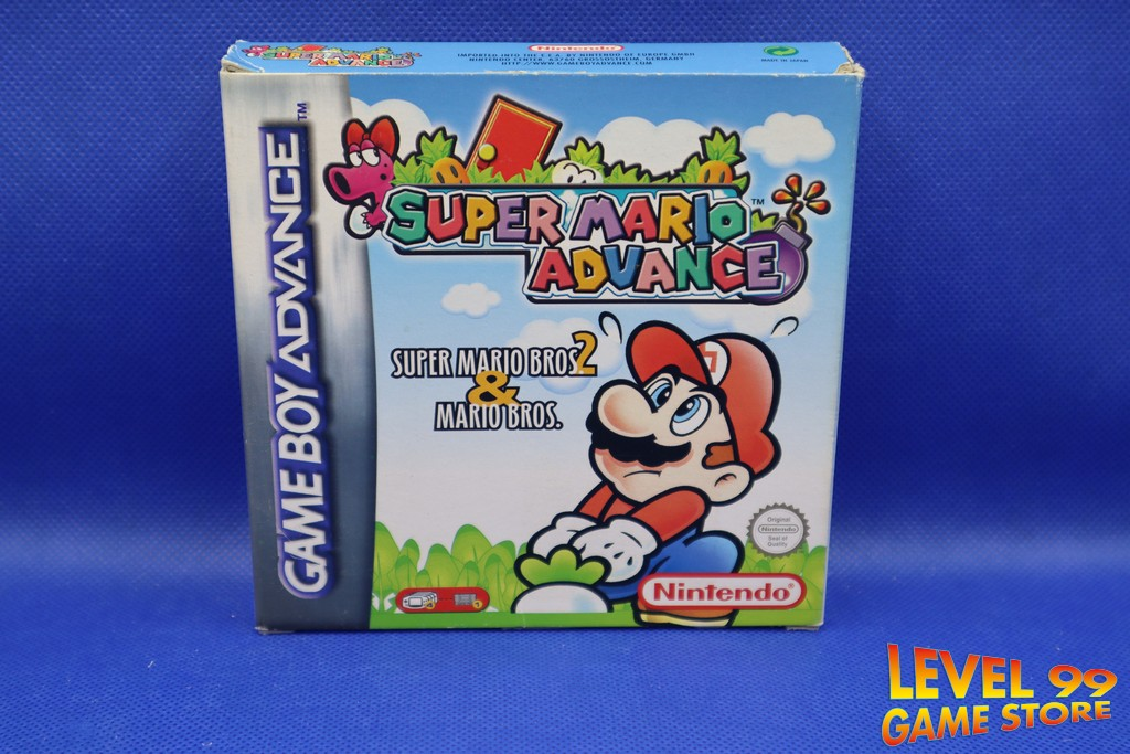 Super Mario Advance Super Mario Bros 2 Mario Bros Level 99
